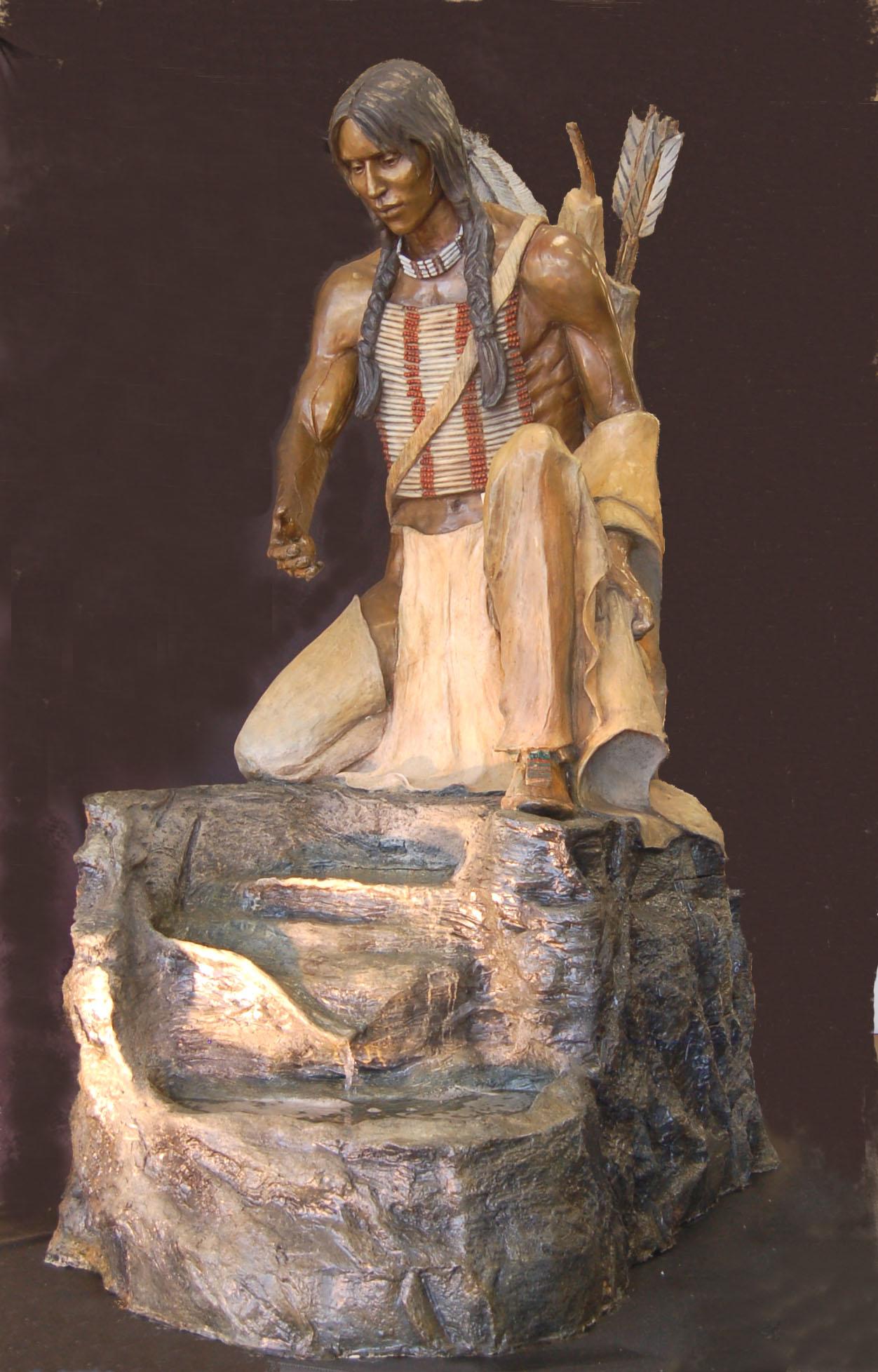 Cheyenne Scout Fountain